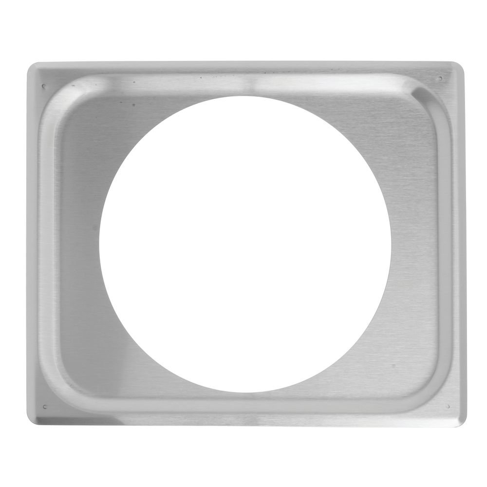 Half Size Single Opening S/S Adaptor Plate, 12-5/8x10-15/16