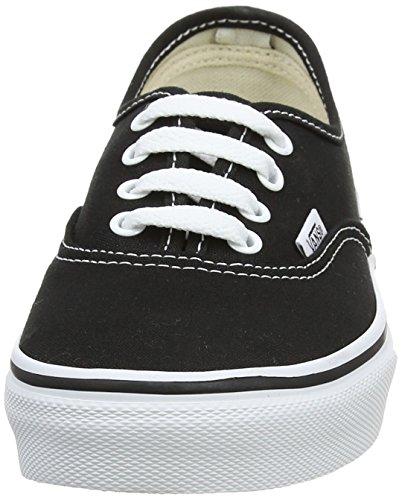 Vans K Authentic Unisex - Kinder Sneaker Schwarz (Black/True Whit 6BT)