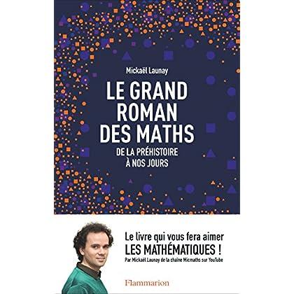 Le grand roman des maths : de la préhistoire à nos jours (French Edition)