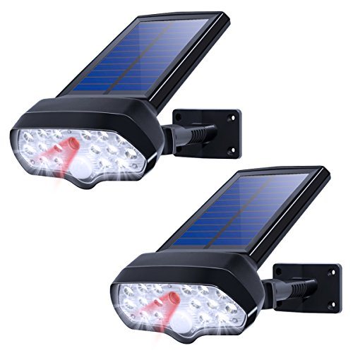 Solar Motion Sensor Lights OTHWAY Bright Wireless Security Lights with Easy Installation Great Detection Range Full Rotating Angle