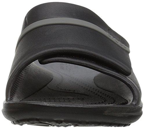 Crocs Unisex Modi Sport Slide Black / Graphite
