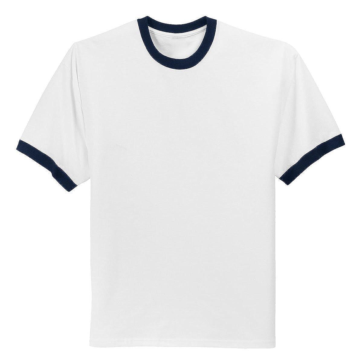 Port & Company - Ringer T-Shirt. | Amazon.com