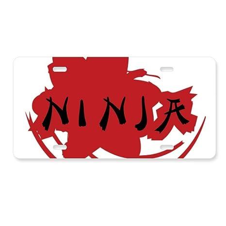 Amazon.com: FerryLife Japan Ninja Words Sakura Silhouette ...