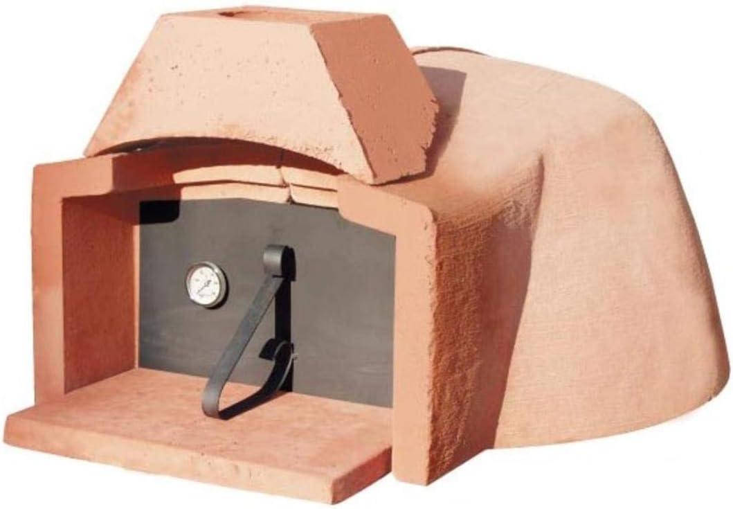 Horno de leña refractario Micro Interior de 70 cm (2/3 Pizzas)