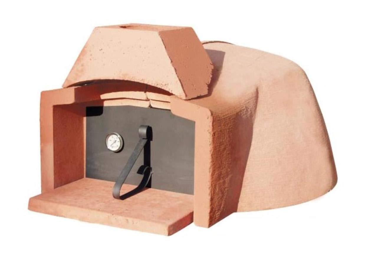 Horno de leña refractario Micro Interior de 70 cm (2/3 Pizzas ...