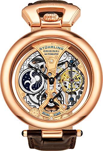 Stuhrling Original Men's 127A.334553 Special Reserve Emperor's Grandeur Automatic Skeleton Watch (Skeleton Reserve)