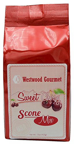 Westwood Gourmet Scone Mix with Jam, 15 oz (Sweet Cherry)