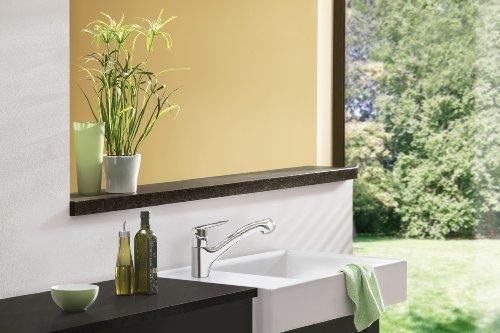grohe touch einhand sp ltischbatterie herausziehbare sp lbrause 32451000 k chenausstattung. Black Bedroom Furniture Sets. Home Design Ideas