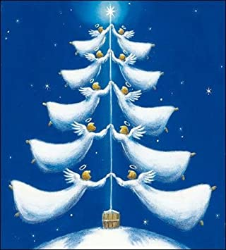 Pack of 5 Christmas Blessings Shelter & Crisis Charity Christmas Cards Cello Packs: Amazon.es: Oficina y papelería
