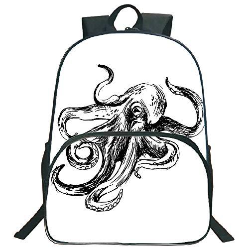 Octopus Decor 3D Print 16