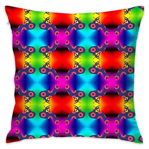 Dlu Hi Pillowcase Colorful Lovely Cartoon,Phish Rainbow Antelope 1_4458 100% Cotton,Living Room Decoration,Home -