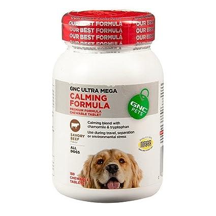 GNC Pets Ultra Mega Calming Formula- high calorie dog food