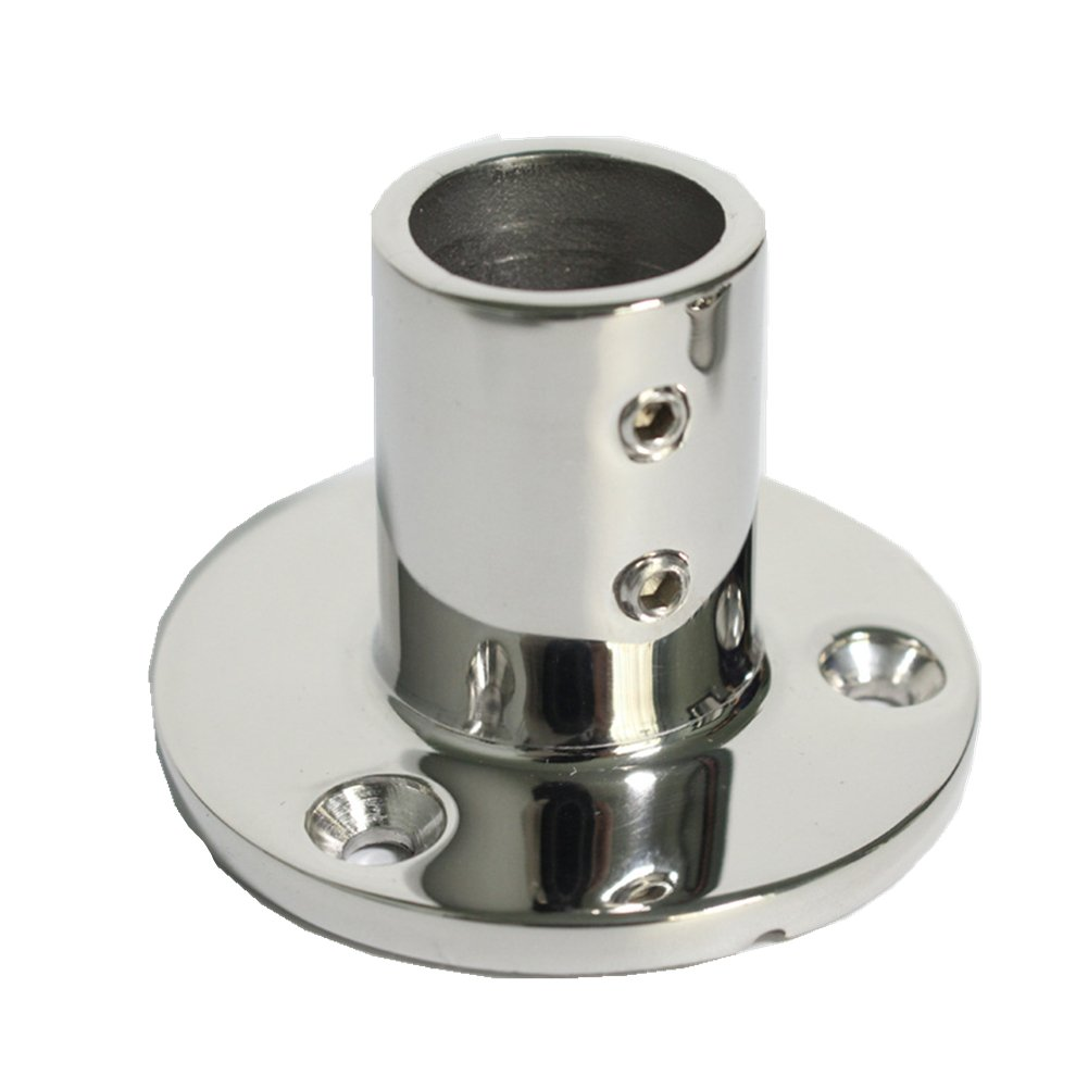 """AISI 316 Marine Grade Stainless Steel Boat Yacht Handrail End Plug 7//8/"""" Tube"""