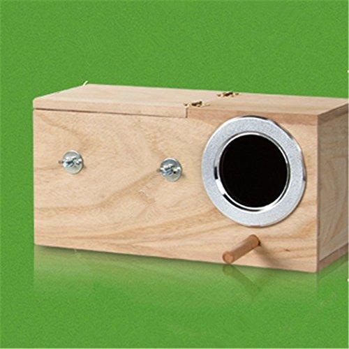 RunHigh Cockatiel Breeding Nesting Bird Avery - Cage Box