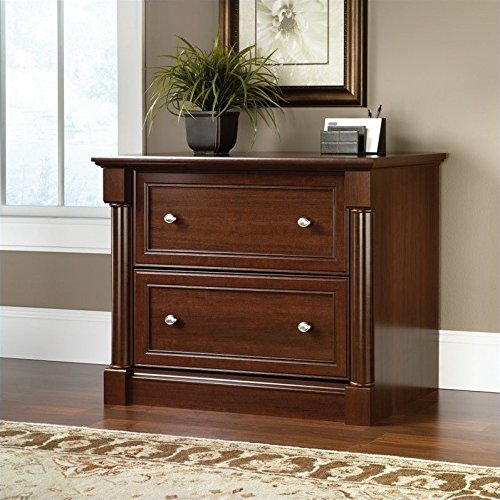 Sauder Palladia Lateral File, Select Cherry finish