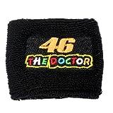 (US) Rossi 46 'The Doctor' Black Clutch Reservoir Cover by MotoSocks Fits Honda CBR 600rr 1000rr, Suzuki GSXR 600 750 1000, Yamaha R1 R6 R6s, Kawasaki ZX6R ZX9R ZX10R ZX12R