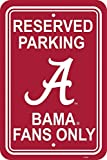 NCAA Alabama Crimson Tide 12-by-18 inch Plastic Parking Sign