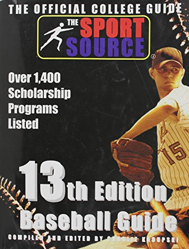 13th Edition Official Athletic College Guide Baseball