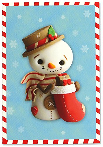 Sweet Snowman Small Boxed Holiday Cards (Christmas Cards, Greeting (Sweet Snowman)