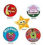 Sticker Solutions Scratch 'n' Sniff Reward Stickers (Pack of 125)