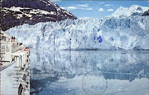 Glacier Bay National Monument Gustavus, Alaska Original Vintage Postcard -