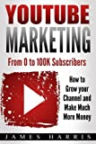 img - for YouTube Marketing: From 0 to 100K Subscribers - How to Grow your Channel and Make Much More Money book / textbook / text book