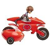 The Incredibles 2 Elasticycle & Elastigirl Vehicle Playset Action Figure