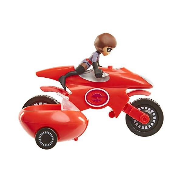 51P5ec5btWL The Incredibles 2 Elasticycle & Elastigirl Vehicle Playset Action Figure
