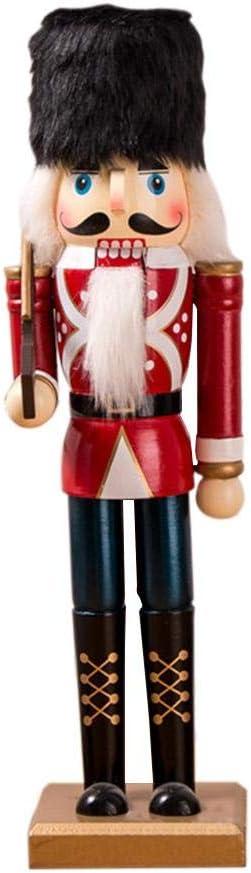 Navidad Artesan/ía De Madera Cascanueces Soldado Verde Y Rojo Cascanueces Soldado T/ítere 60CM Novedad De Madera Adorno Decorativo Decoraci/ón Para El Hogar Regalos /Árbol Colgante Actual