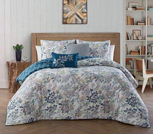 Avondale Manor Cali 5-piece Comforter Set, Dark Blue, King