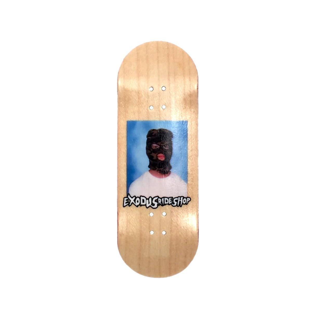 Exodus Skimask 33mm Fingerboard Deck (Natural, 32mm)