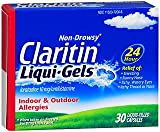 Claritin 24 Hour Allergy Non-Drowsy - 30 Liqui-Gels, Pack of 5