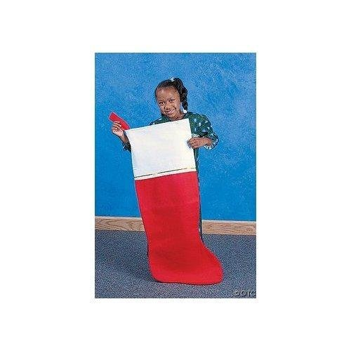 Large Christmas Stocking (set of 4 - Jumbo - 45