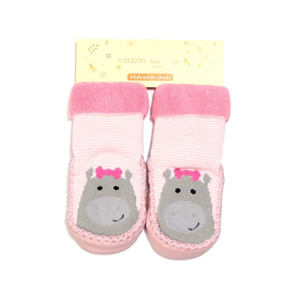 Adorable Infant Child Toddler Socks Anti-slip Sock Shoes Boots Floor Slipper