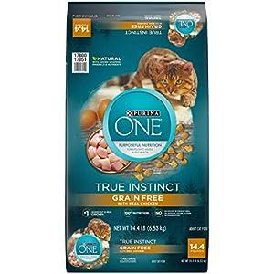 11. Purina ONE True Instinct Grain Free High Protein Cat Food