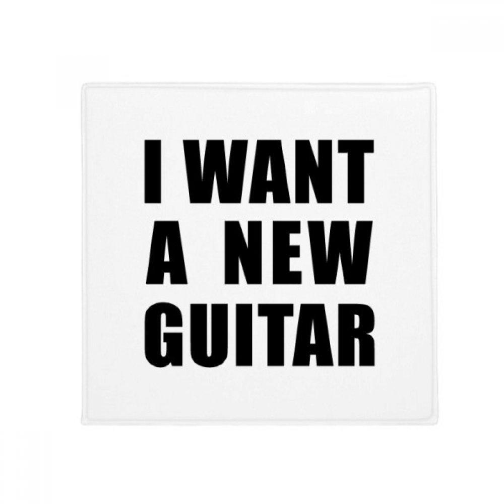 DIYthinker I Want A New Guitar Anti-Slip Floor Pet Mat Square Home Kitchen Door 80Cm Gift