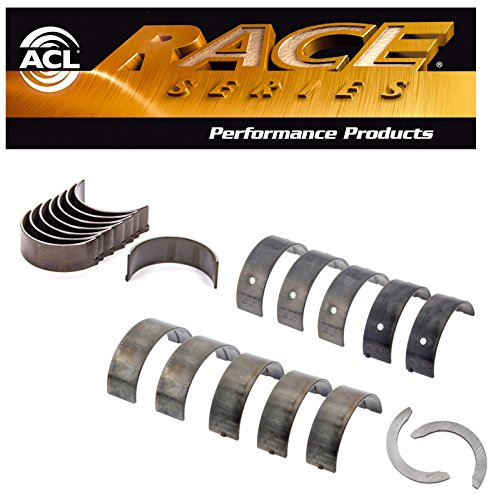 (ACL Race Rod & Main Bearings plus Thrust washers Set comaptible with Acura CL Honda Accord Isuzu 2.3L F23A STD)