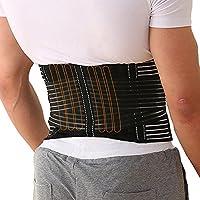 腰サポーター 腰痛ベルト スポーツベルト 腰コルセット 通気性抜群 腰 保護 加圧 幅広90~110cm 腰痛緩和 腰椎固定