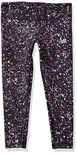 New Balance Kids Big Girls' Performance Tight, Confetti, 14