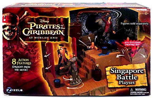 (Zizzle Pirates of The Caribbean 3: Singapore Playset)