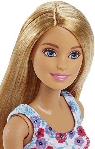 Poupée Barbie - Robe Fond Blanc