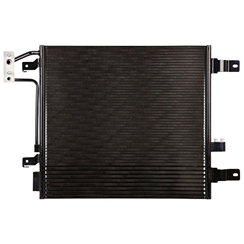 Wrangler Condenser A/c Jeep (A/C AC Air Conditioning Condenser For Jeep Wrangler 2007 2008 2009 2010 - BuyAutoParts 60-60671N New)