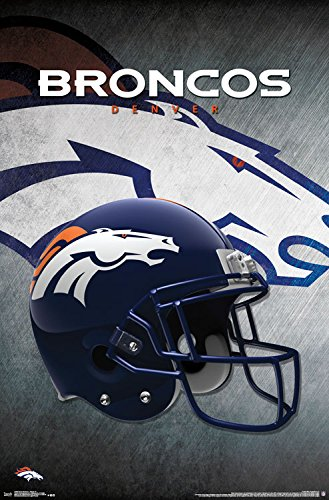 Trends International Denver Broncos Helmet Wall Posters, 22