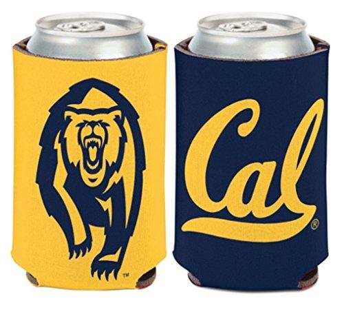 Cooler Berkeley (NCAA University California Berkeley Cal Bears 1 Pack 12 oz. 2-Sided Can Cooler)