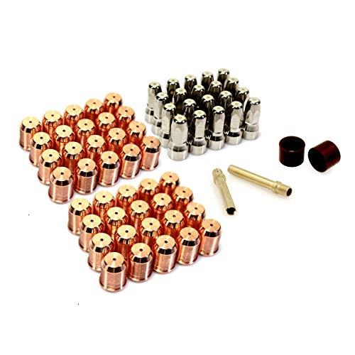 PR0117 Plasma Electrode PD0119-12 Tip 0.047in / 1.2mm Air Pin Swirl Ring for Trafimet S105 Torch Kit -
