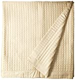 Belle Epoque 420-Thread Count Quilted Coverlet, Full, Taupe