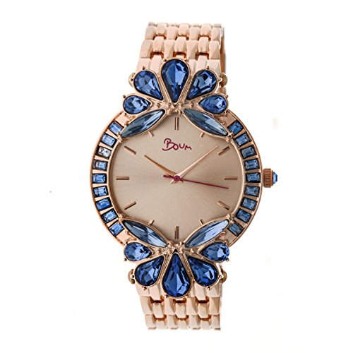 Boum Precieux Statement Crystal Dial Quartz Watch