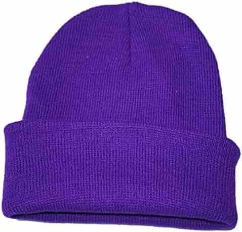 3b5c70aa70c iYBUIA Unisex Slouchy Knitting Beanie Hip Hop Cap Warm Winter Ski Hat