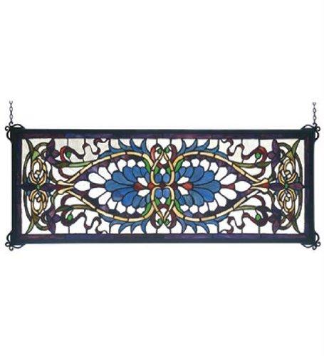 Meyda Tiffany Antoinette Transom Window Panel ()