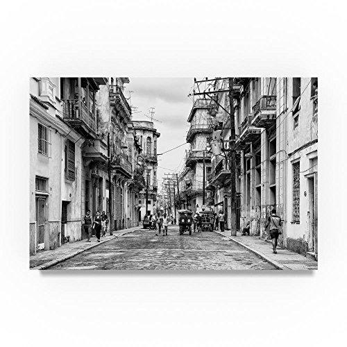 Old Havana Street IV by Philippe Hugonnard, 12x19-Inch Canvas Wall Art